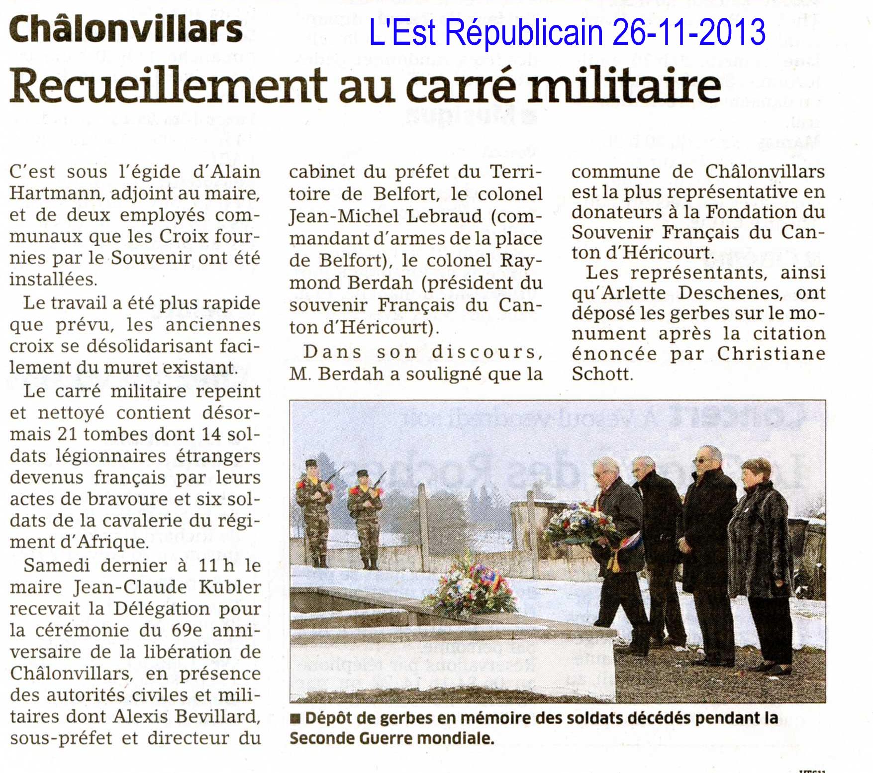 2013 11 26 l est republicain liberation chalonvillars